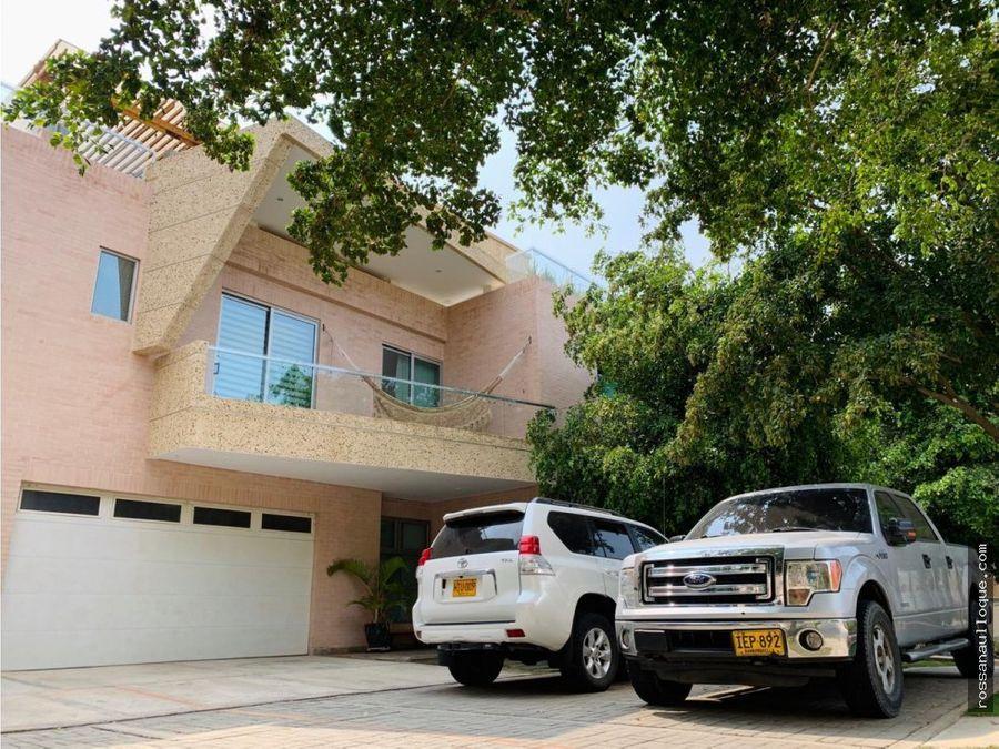 venta de hermosa casa en sector de villa campestre