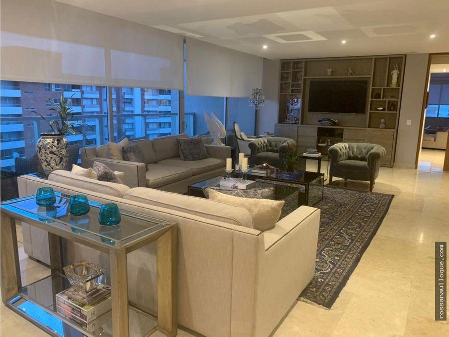 venta de espectacular apartamento