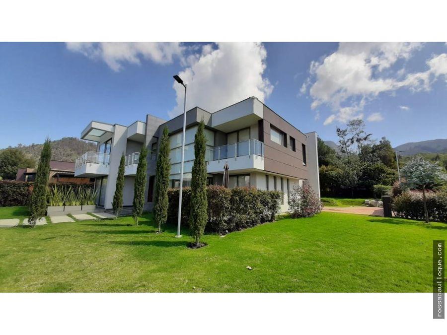 venta de espectacular casa en sopo cundinamarca
