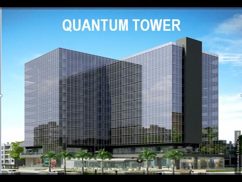 se arriendan oficinas en quantum tower