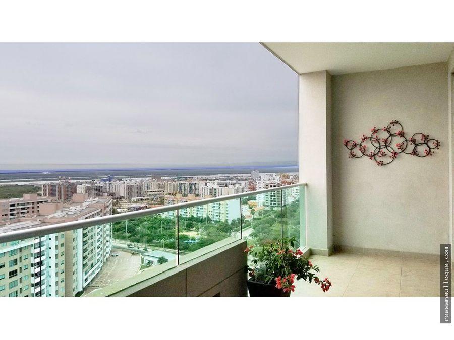 se vende apartamento sector altos de riomar