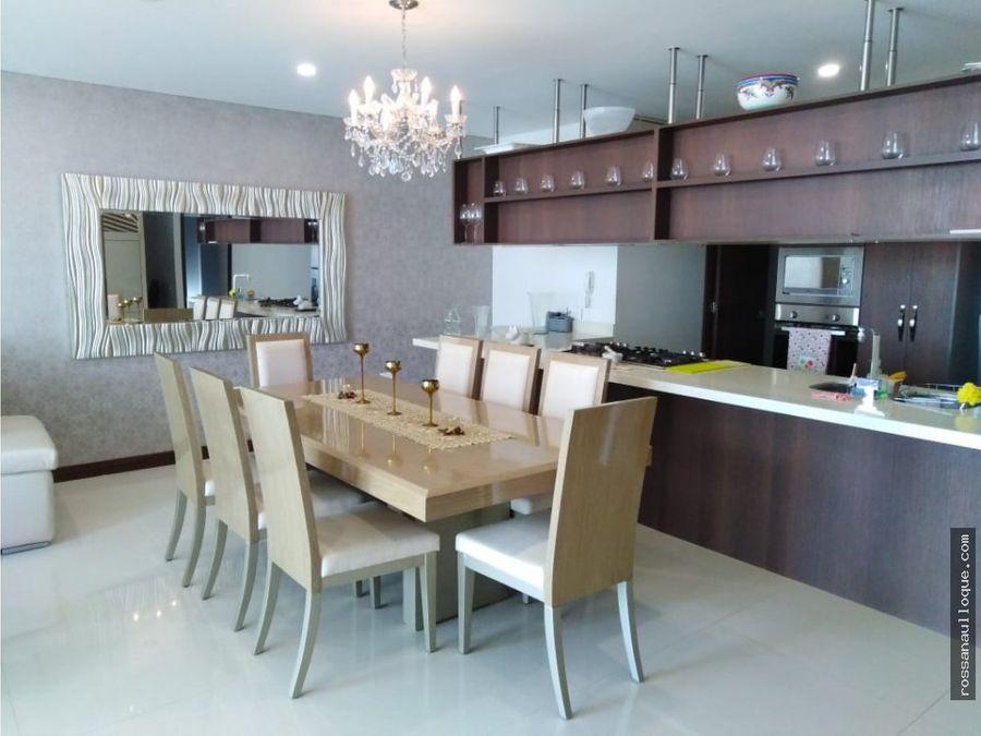 se vende apartamento amoblado sector alto prado
