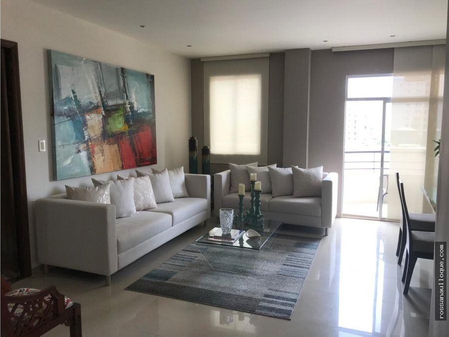venta de apartamento en sector de alto prado