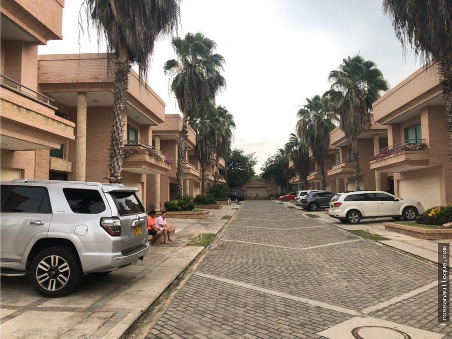 venta de casa conjunto en villa campestre