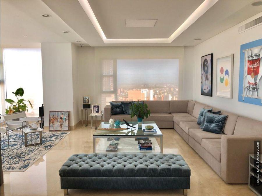 venta de espectacular apartamento de lujo