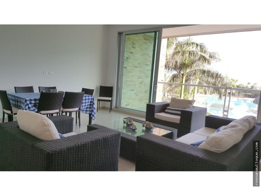 se vende apartamento aguamarina beach resort