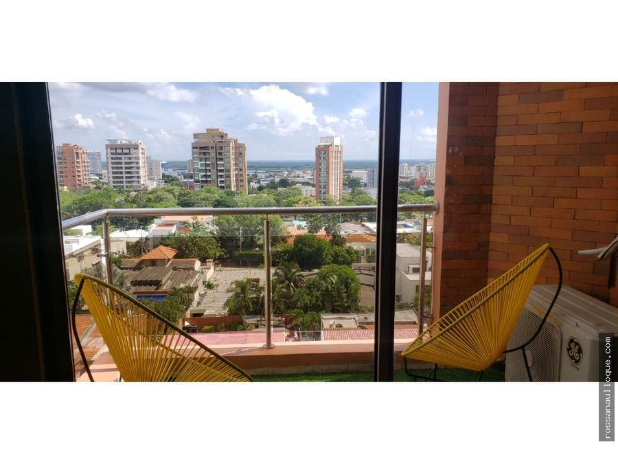 venta de hermoso apartamento en sector del barrio alto prado
