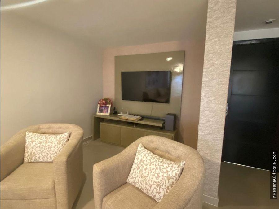 venta de exclusivo apartamento en norte de la ciudad