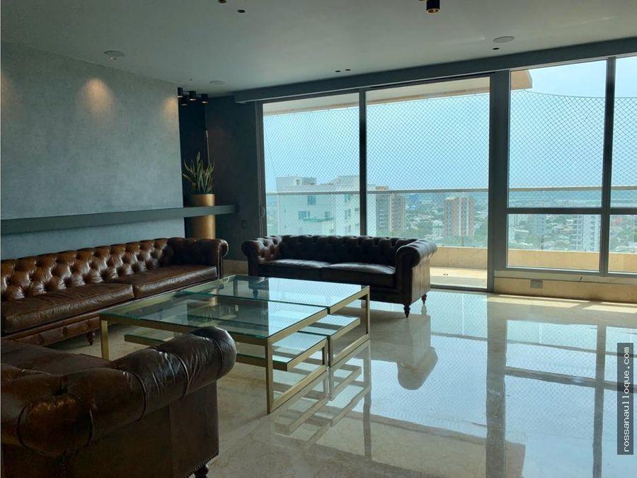vendo espectacular apartamento en zona norte