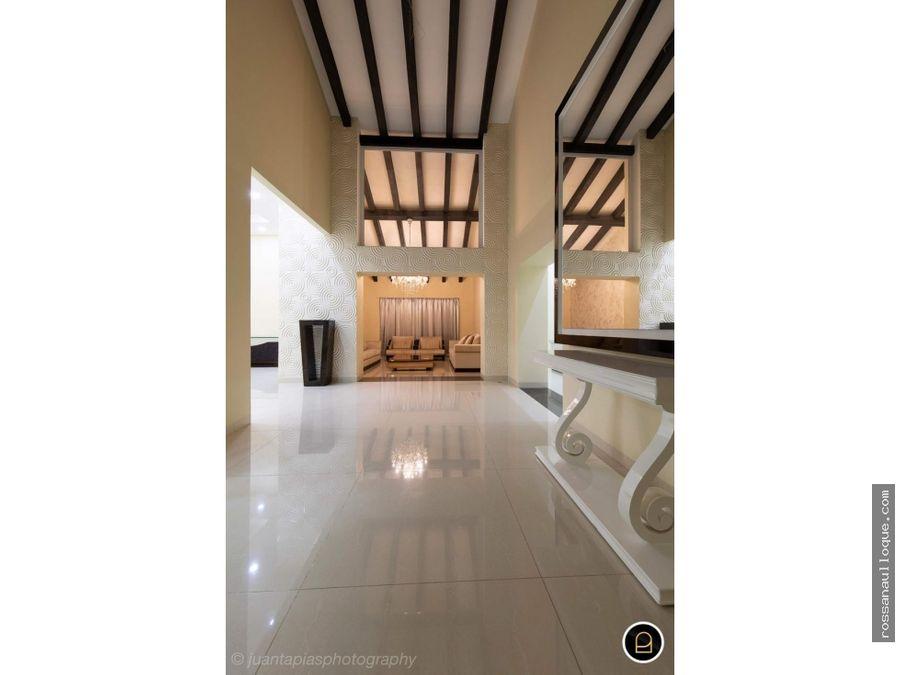 vendo espectacular casa de lujos en puerto colombia villa campestre