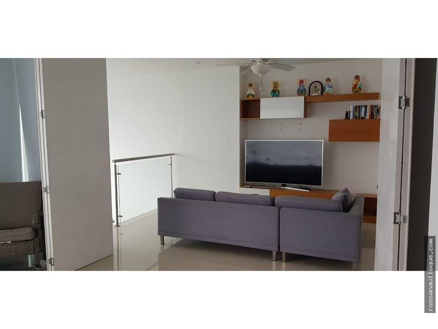 venta de hermoso apartamento duplex en cartagena