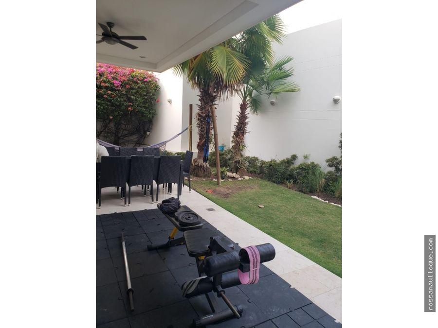 venta de casa ubicada en sector de villa campestre