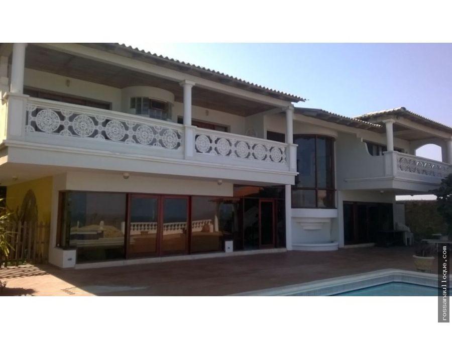 se vende hermosa casa en prado mar