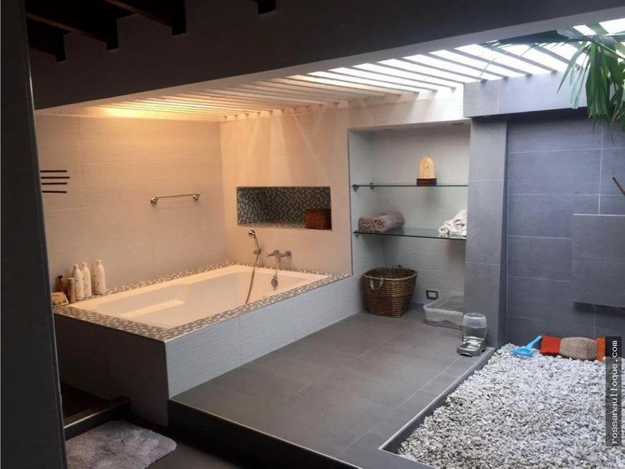 venta de casa remodelada en sector de villa campestre tradicional