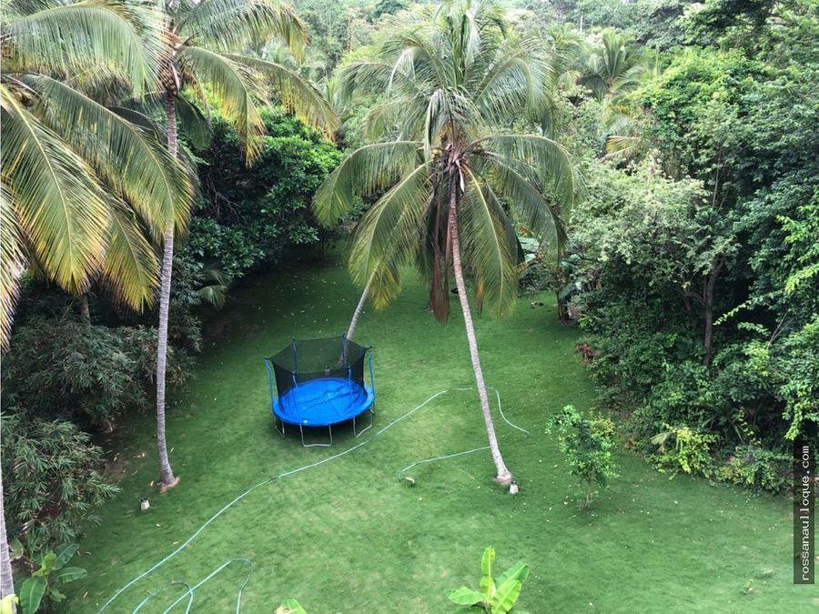 se vende hotel ecoturistico en tairona