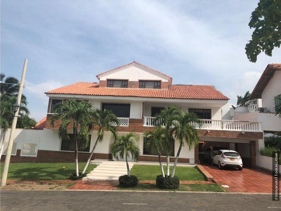 vendo casa en sector de villa campestre