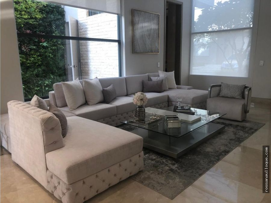 venta de espectacular casa conjunto