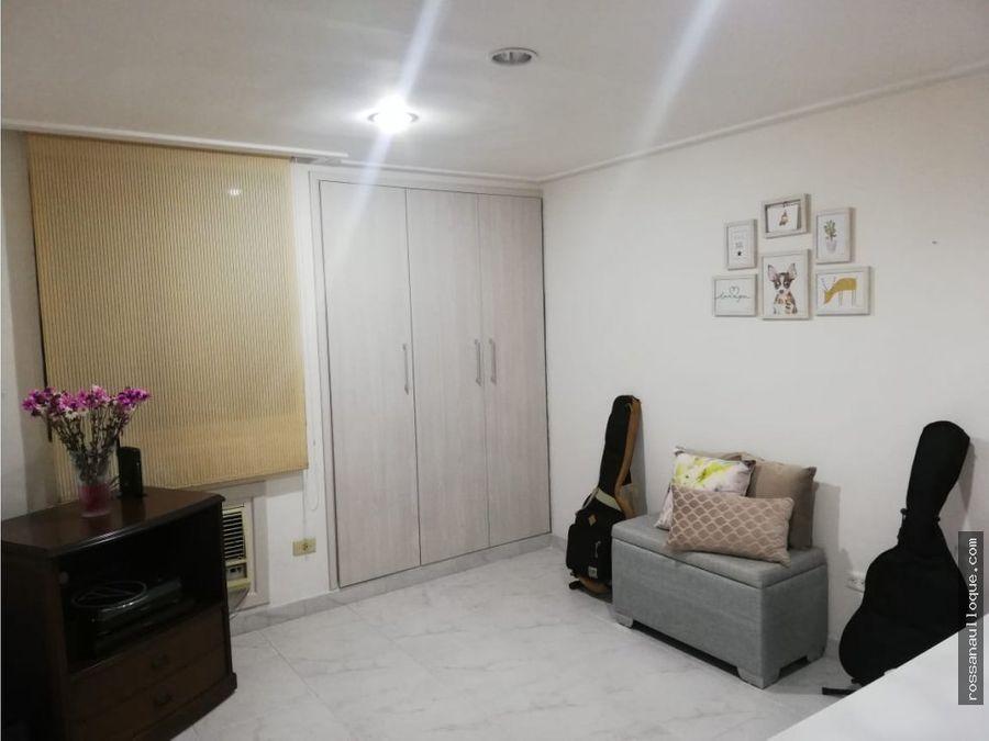 se vende apartamento remodelado sector alto prado