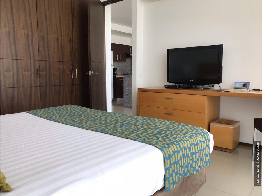 se vende apto hotel 5 estrellas sector alto prado
