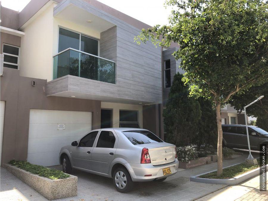 se vende casa conjunto en villa campestre antugua