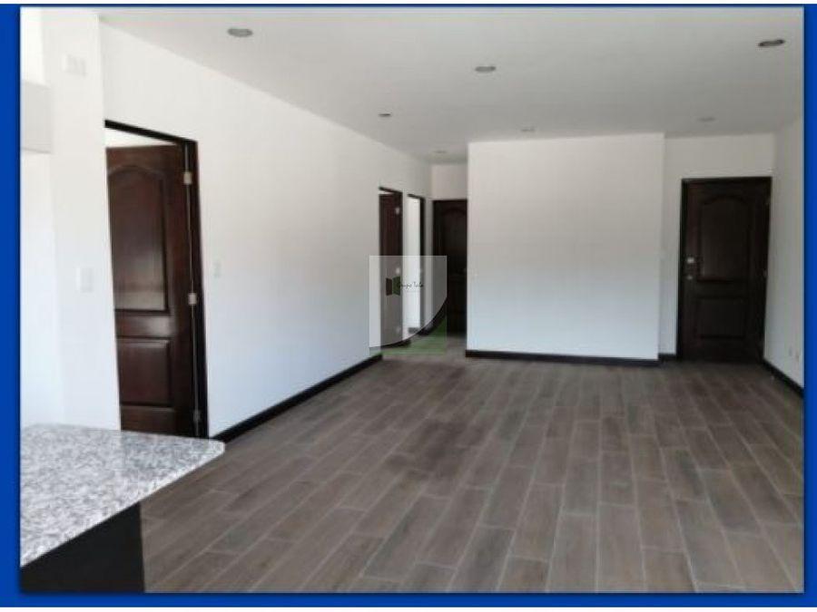 apartamento en venta zona 16 edificio domos
