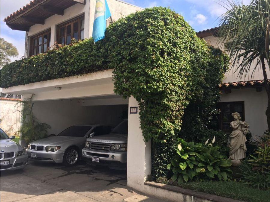 casa en venta zona 11 san bernardo