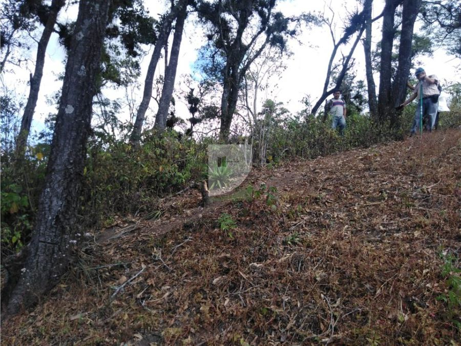terreno en venta antigua guatemala el hato