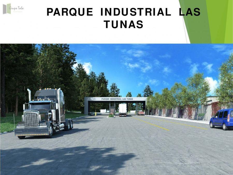 terreno en venta el naranjo parque indus las tunas