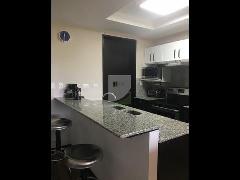 apartamento amueblado en renta zona 16 edificio nueva caledonia