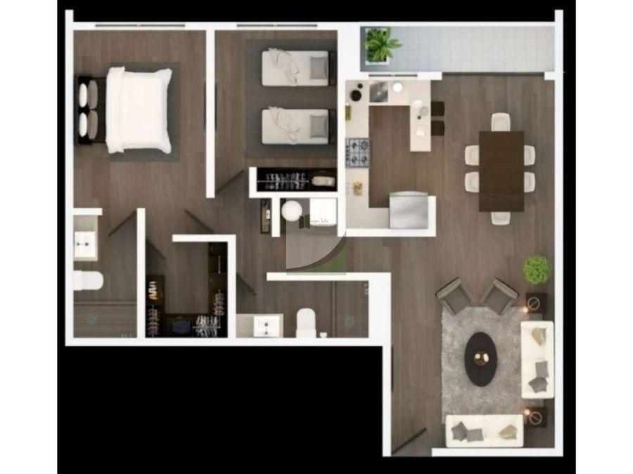 apartamento en venta zona 14 plaza segheria