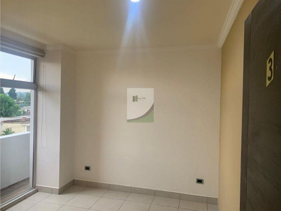 apartamento en renta zona 10 bresciani