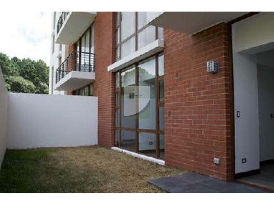 apartamento en venta zona 16 edificio 2021