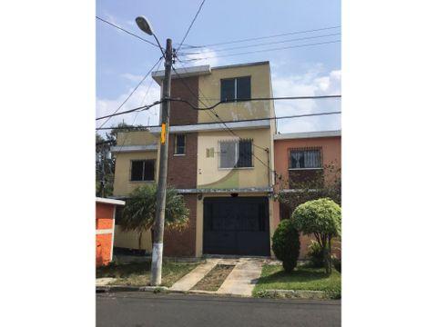 casa en renta zona 3 de mixco nueva montserrat