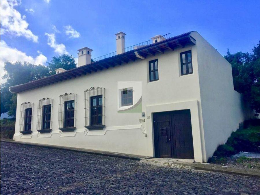 casa en venta antigua hacienda del comendador