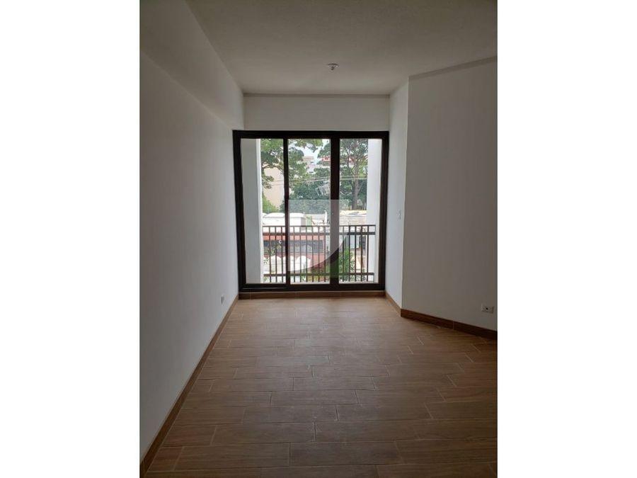 apartamento en renta zona 14 garces de la villa