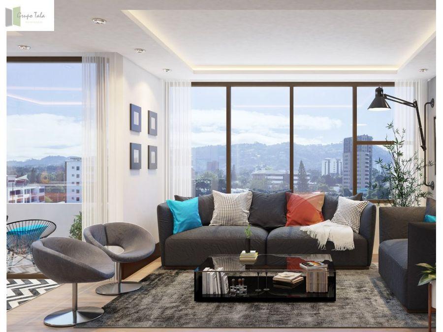 apartamento en venta zona 15 liv
