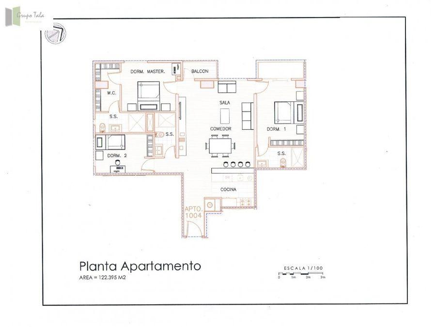 apartamento en venta zona 14 torre 14