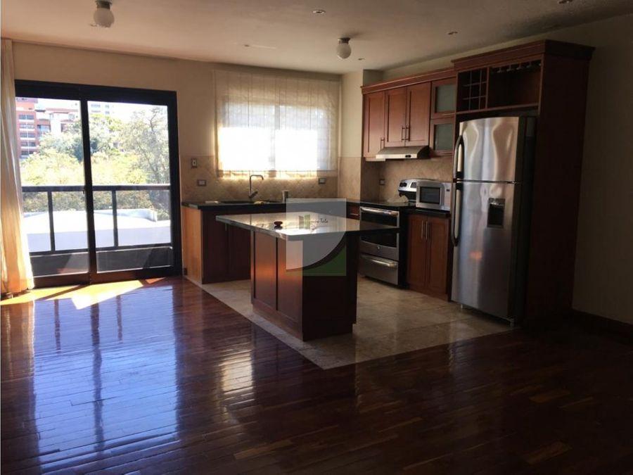 apartamento en renta zona 15 casa alcala