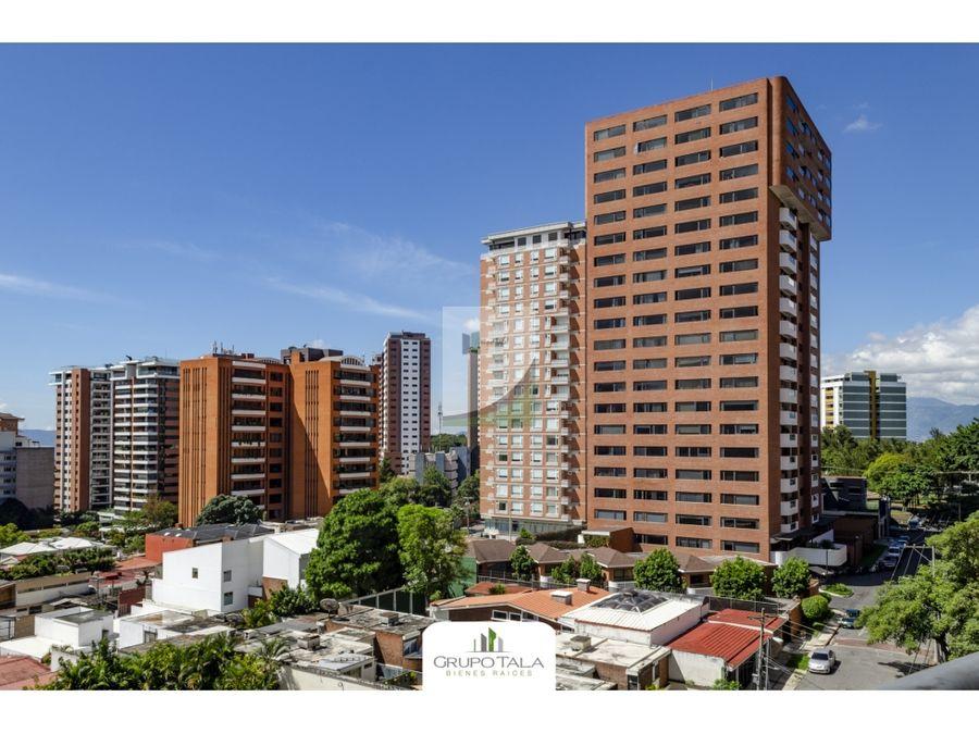 apartamento en venta zona 14 edificio bellagio