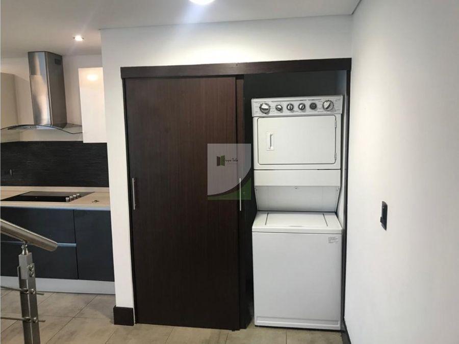 apartamento tipo loft en renta viu cayala