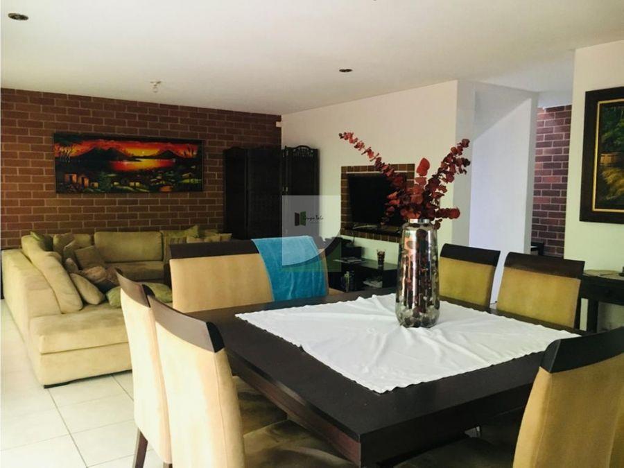 casa en renta zona 16 rotonda de kanajuyu