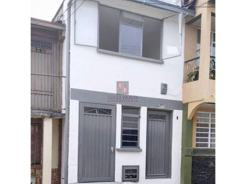 venta casa con renta enea manizales