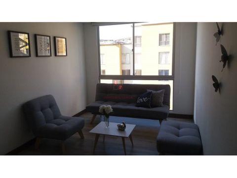 alquiler apartamento amoblado en la carola