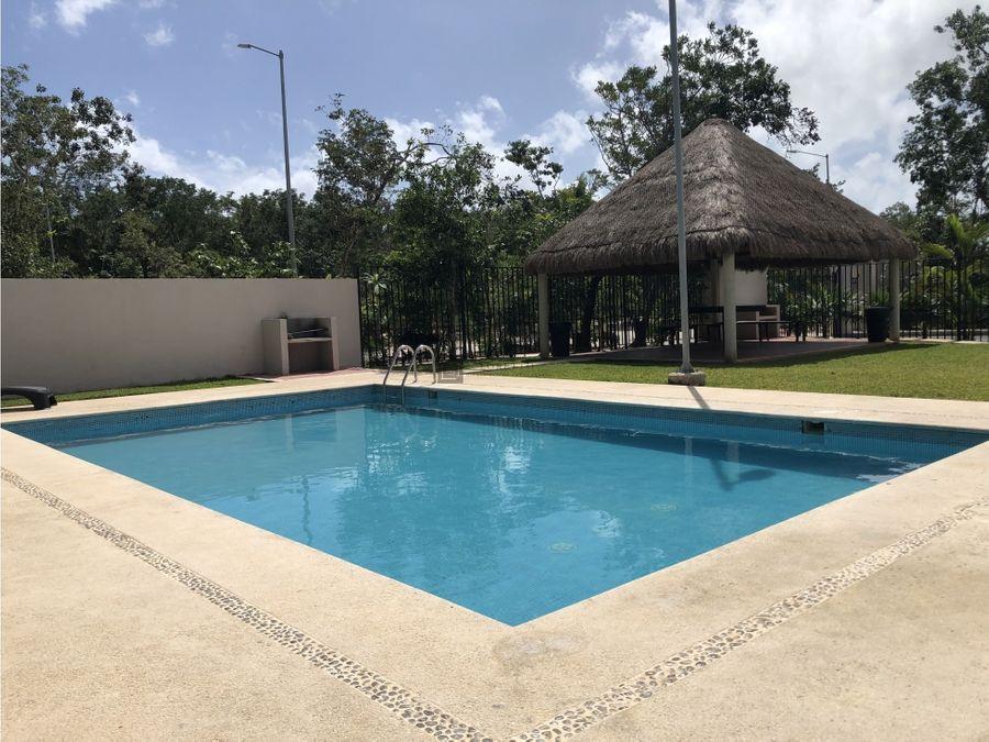 casa amueblada en jardines mayakoba