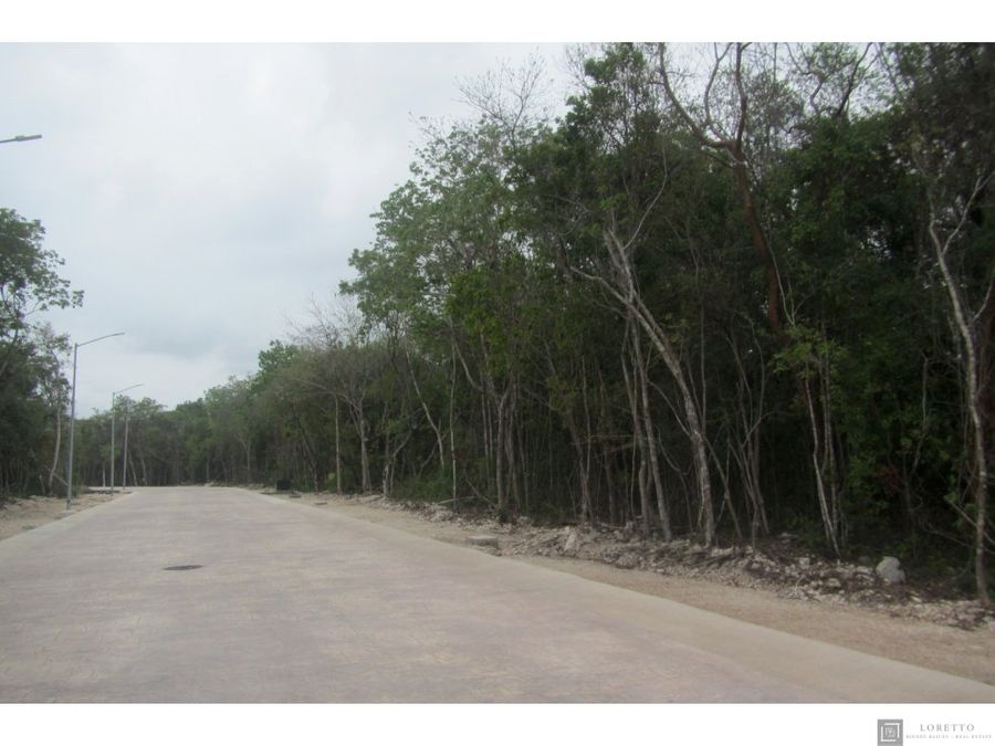 lote en senderos mayakoba