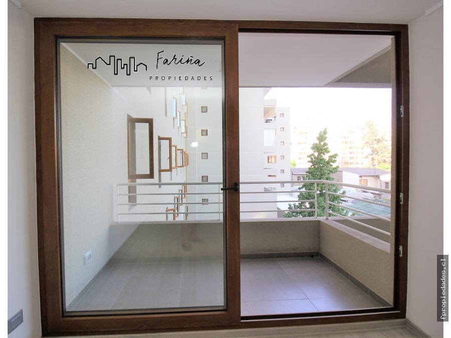 nuevo amplio dpto arrienda 1d 1b e plaza nunoa metro chile espana