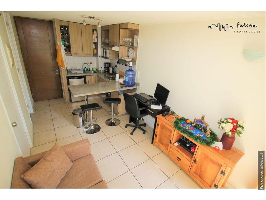 se vende departamento de 1 dormitorios 1 bano santiago centro