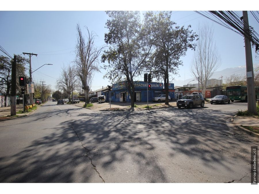 vende propiedad av quilin 2000 m2 entre macul y vespucio