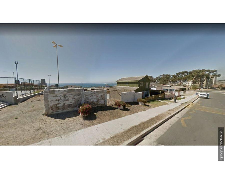 vende terreno concon vista mar 800m de playa