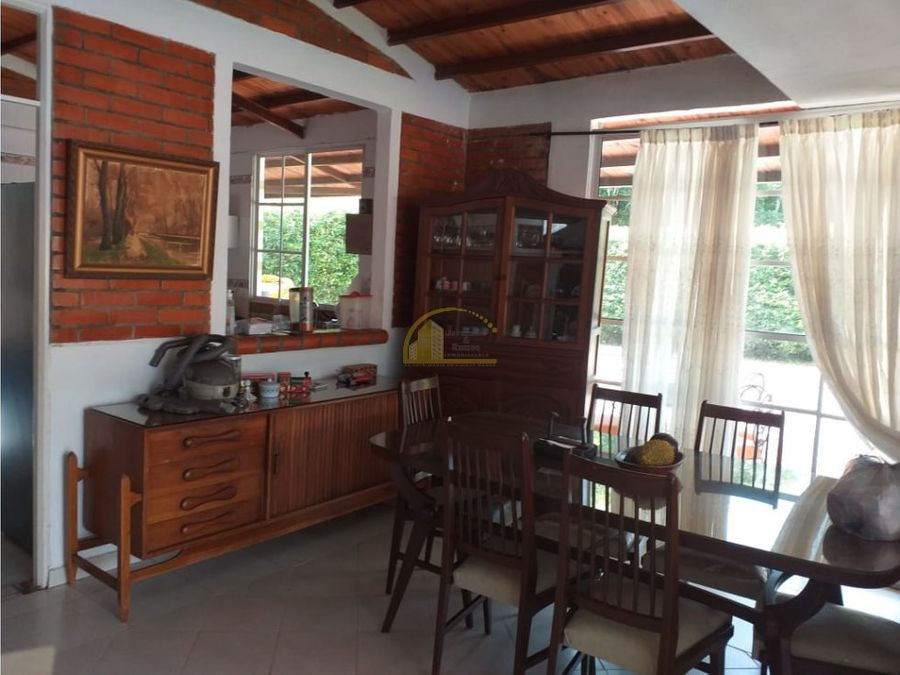casa campestre en venta via barcelona quindio